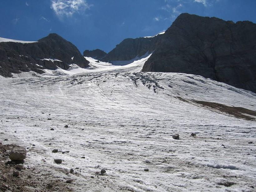 Ледник Мармолада, Италия