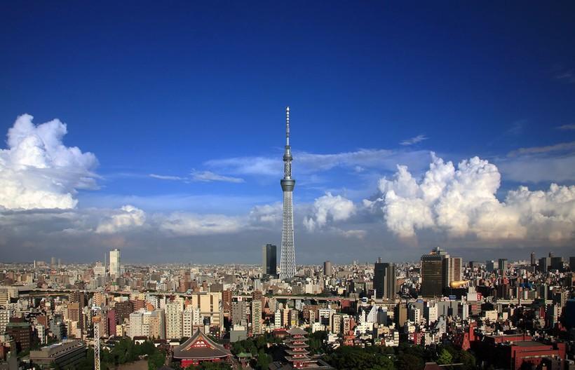 Секрет Токийской телебашни высотой 634 метра — как она противостоит землетрясениям