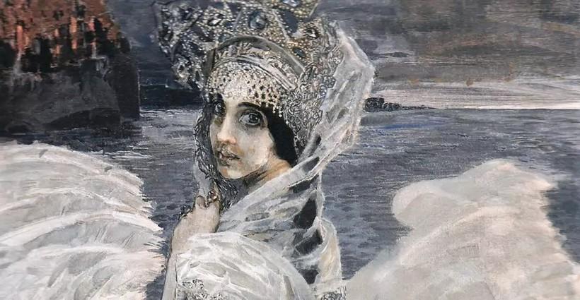 «Царевна Лебедь», 1900 г. М. Врубель