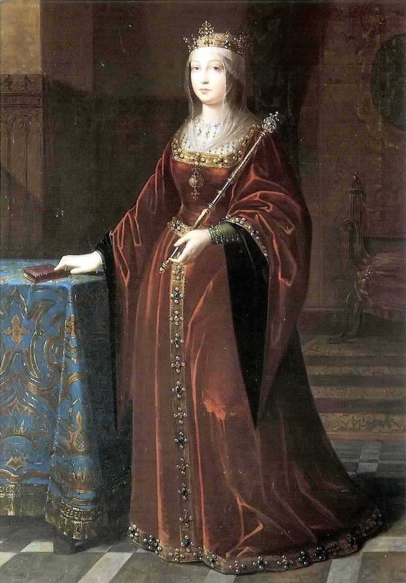 Портрет Изабеллы Кастильской неизвестного художника