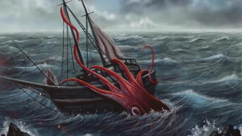 Видео: Гигантский кальмар — таинственный обитатель глубин