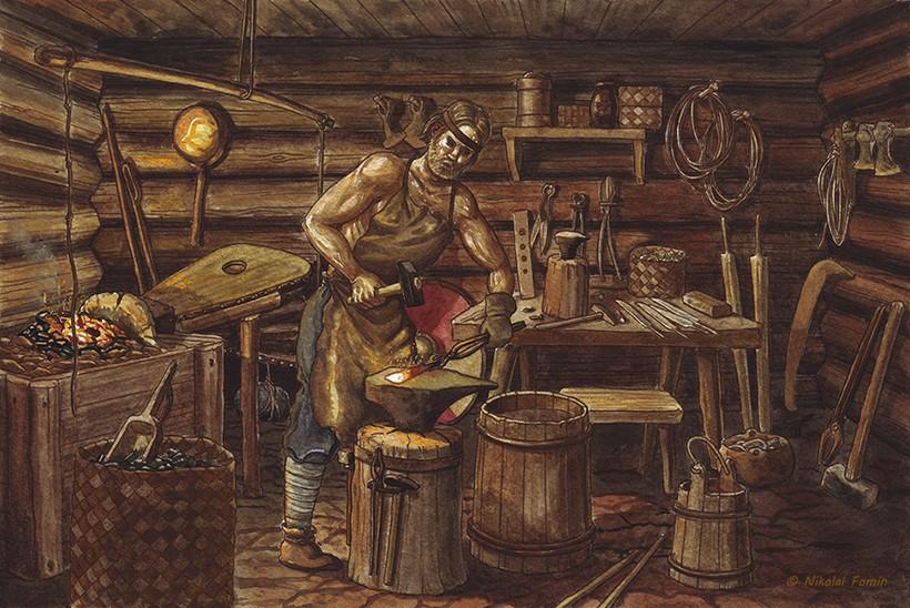 Иллюстрация из книги Ильи Бояшова «Русь в Х веке»
