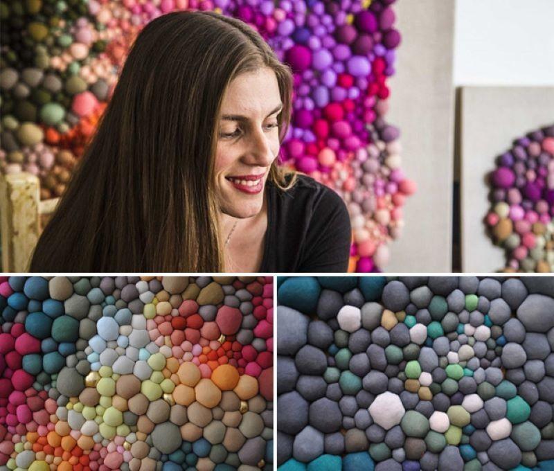 Тканевые пузыри вместо мыльных: причудливые работы Серены Гарсии Далла Венеция