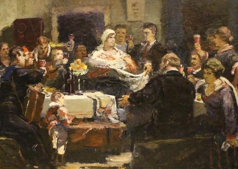 «Октябрины», 1936 год. Александр Бубнов