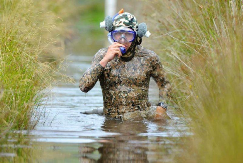 Экстремальная глажка и болотный заплыв: необычные виды спорта со всего света