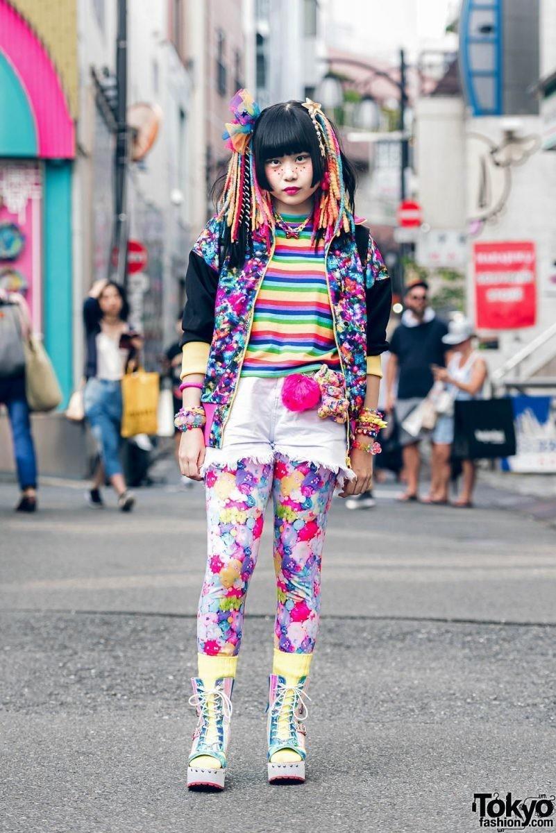 Сумасшедшая мода Японии: почему молодежь Токио так странно одевается