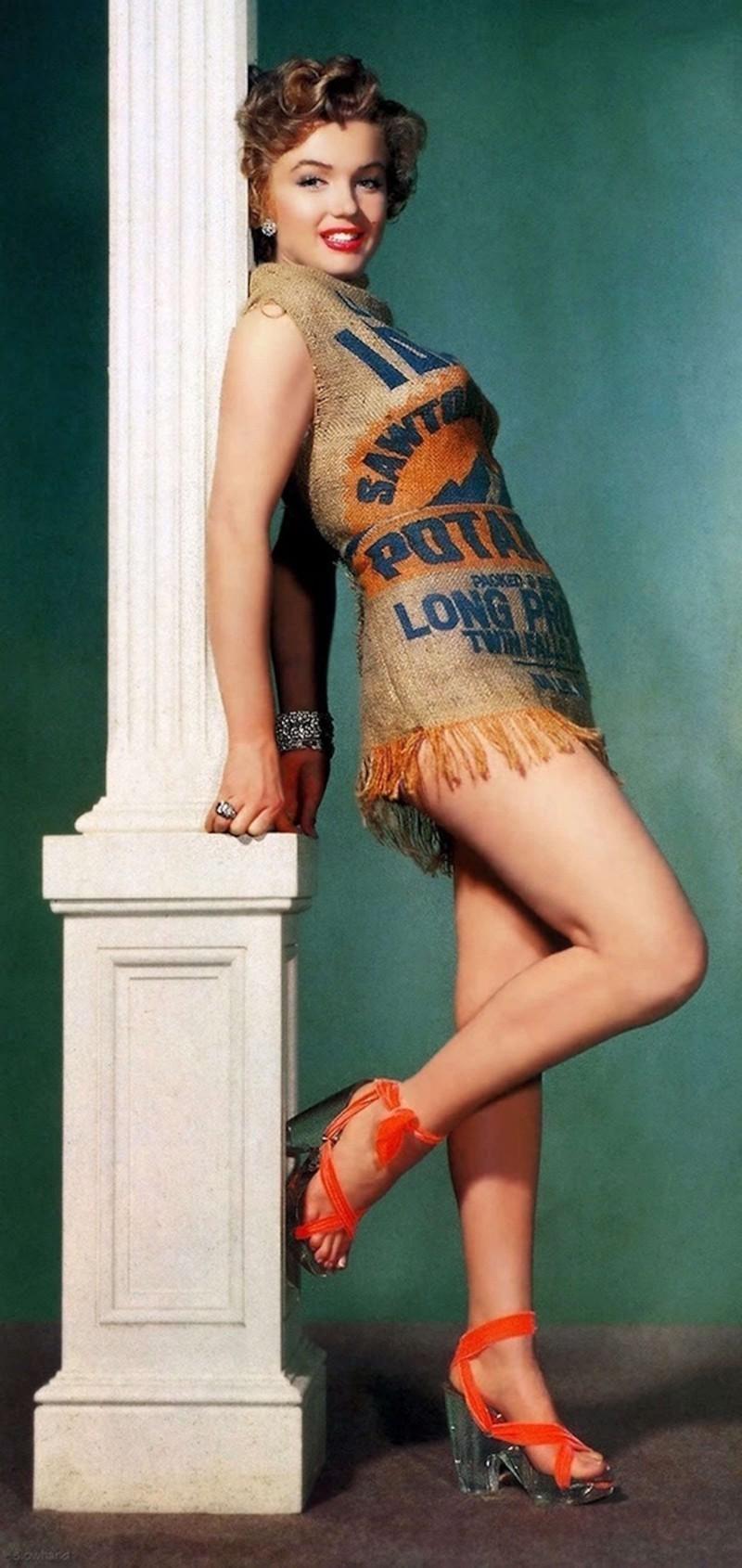 Фото Мэрилин в этом платье вызвали восторг публики