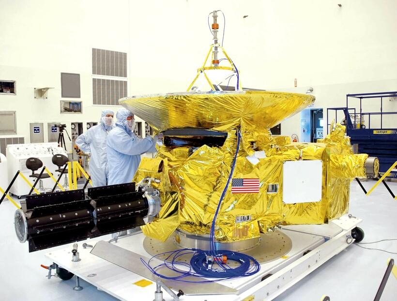 New Horizons, отправленный в 2006 году, уступает в скорости многим современным станциям
