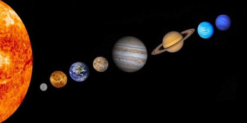 8 планет Солнечной системы