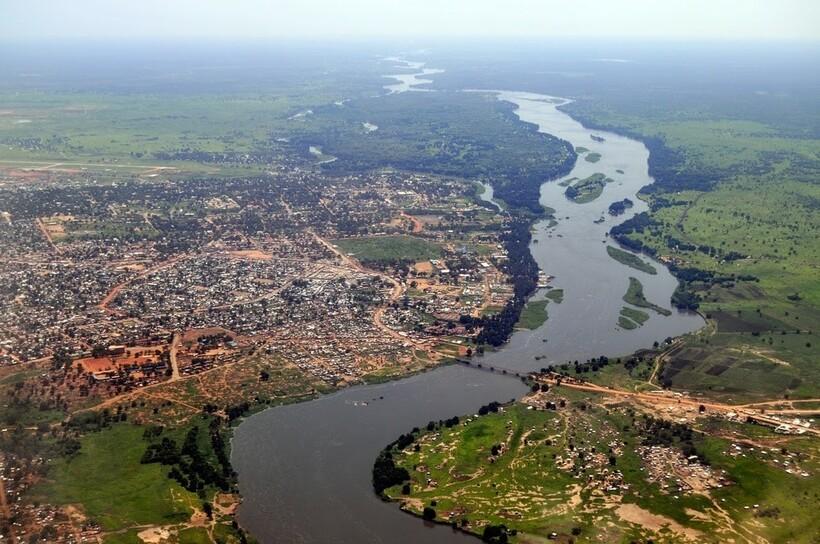 Река Нил в Судане