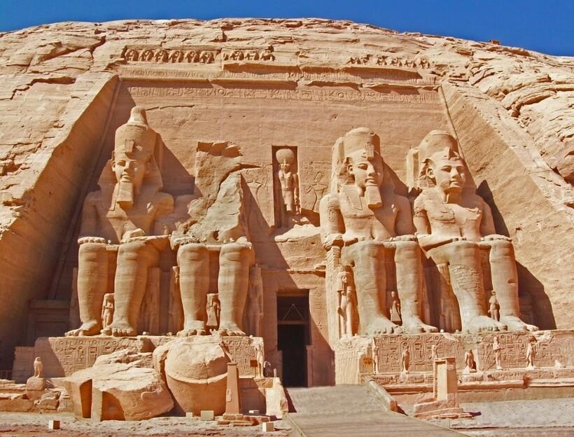 Храм Абу-Симбел в Асуане