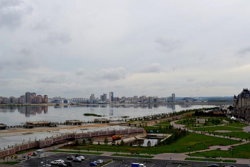 Казанка в центре Казани