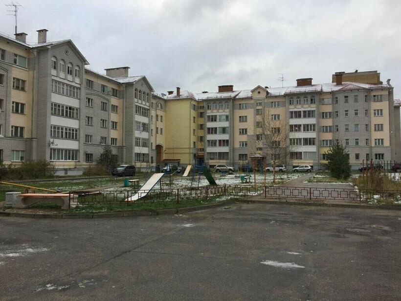 Жилой квартал в Московском районе