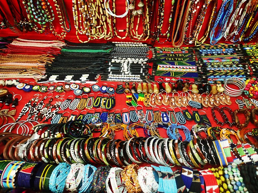 Бижутерия на Занзибаре