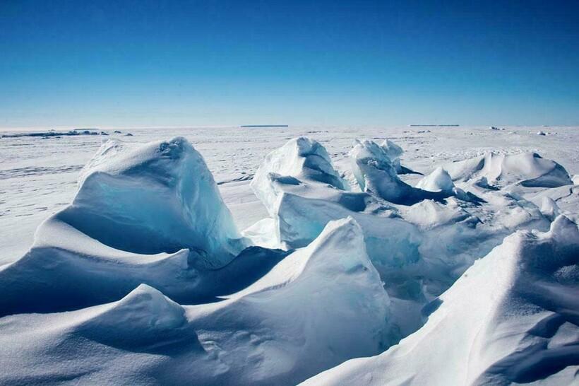 Зима в Арктике
