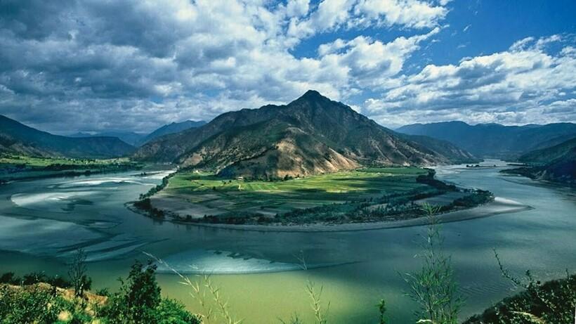 Китайская река Янцзы
