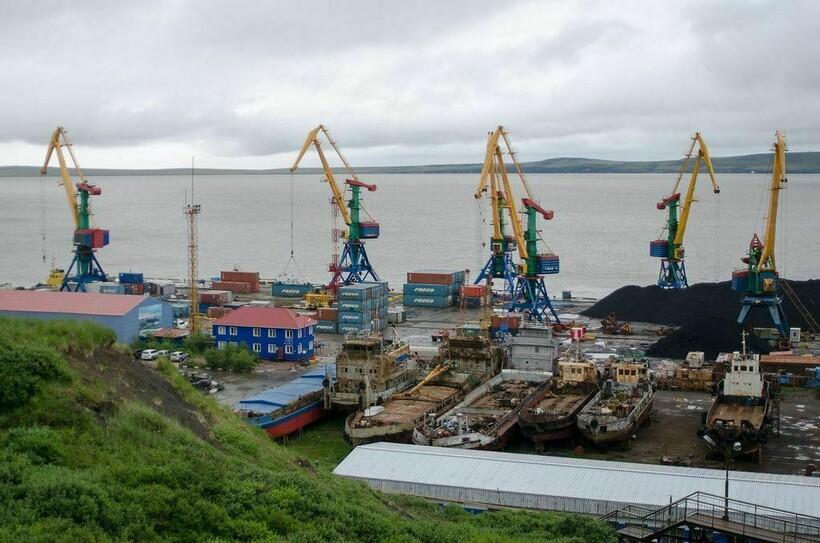Порт Анадырь