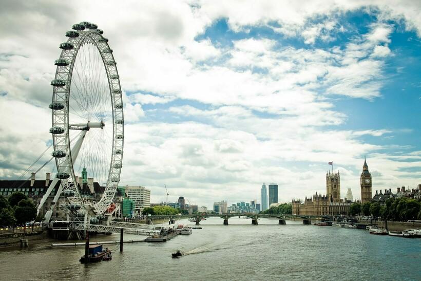 Колесо обозрения в Лондоне