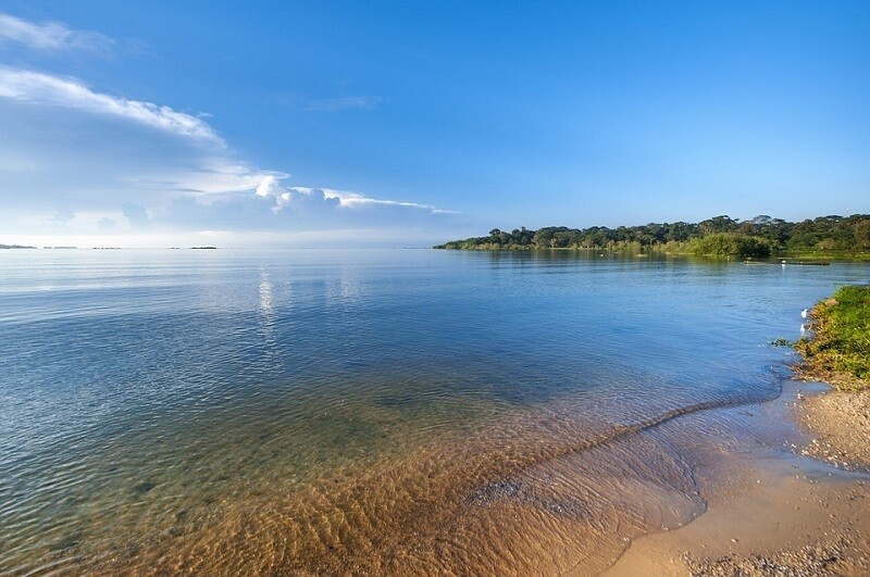 Пляж на Ньянза