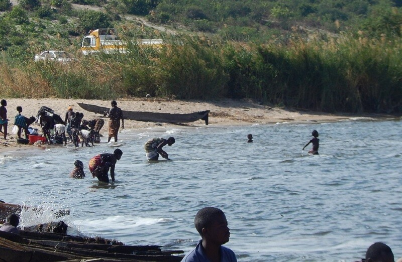 Аборигены на озере Бангвеулу