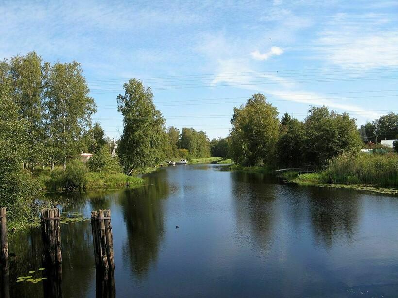 Типичные реки северо-запада России