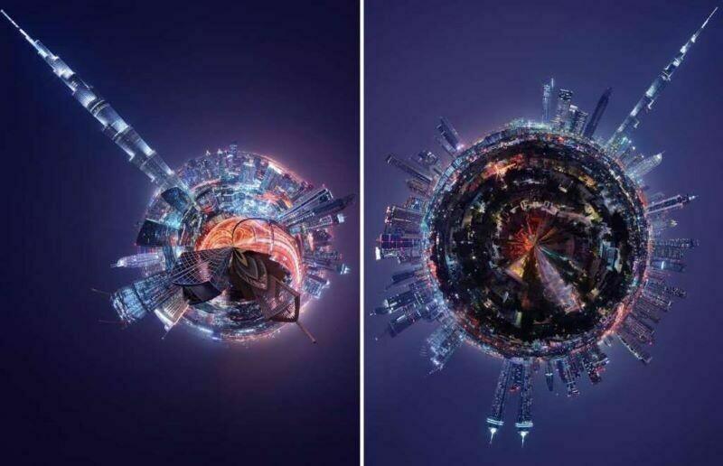 Что, если бы города были огромными планетами