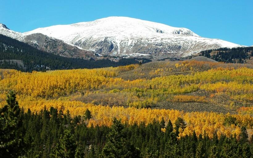 Вид на гору Эльберт