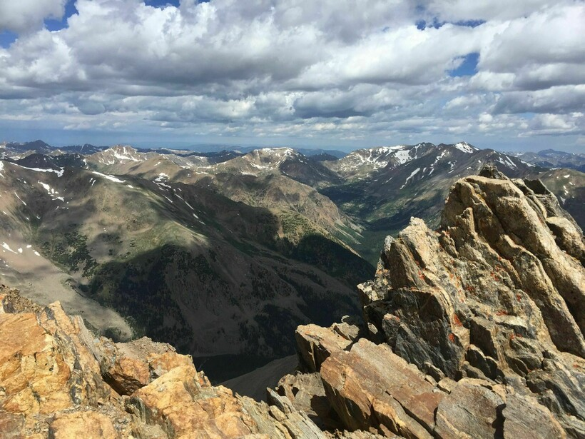 Пик горы Эльберт