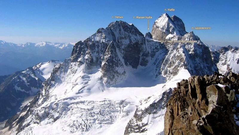 Ушбинское плато