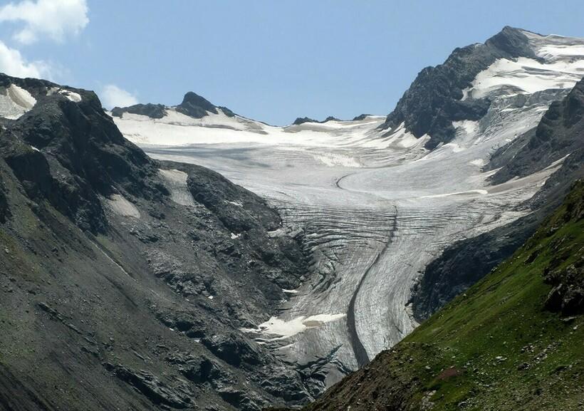 Ушбинский ледник