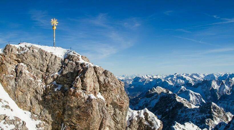 Вершина горы Цугшпитце