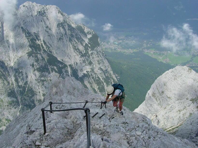 Восхождение на вершину Цугшпитце