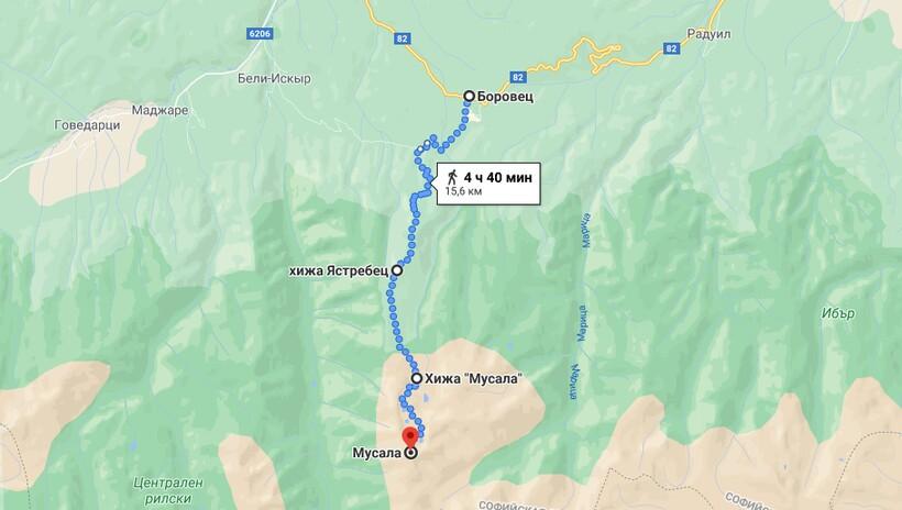 Восхождение на гору Мусала