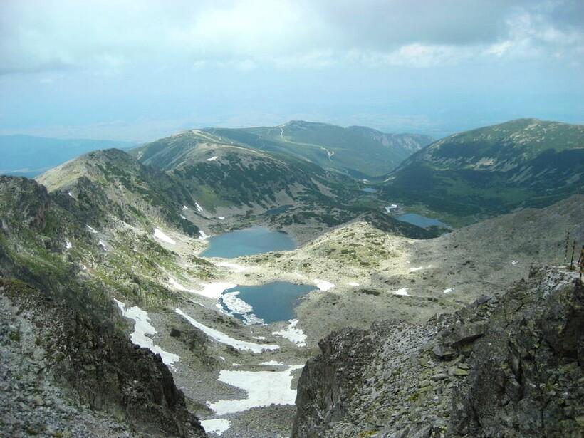 Вид с вершины Мусалы