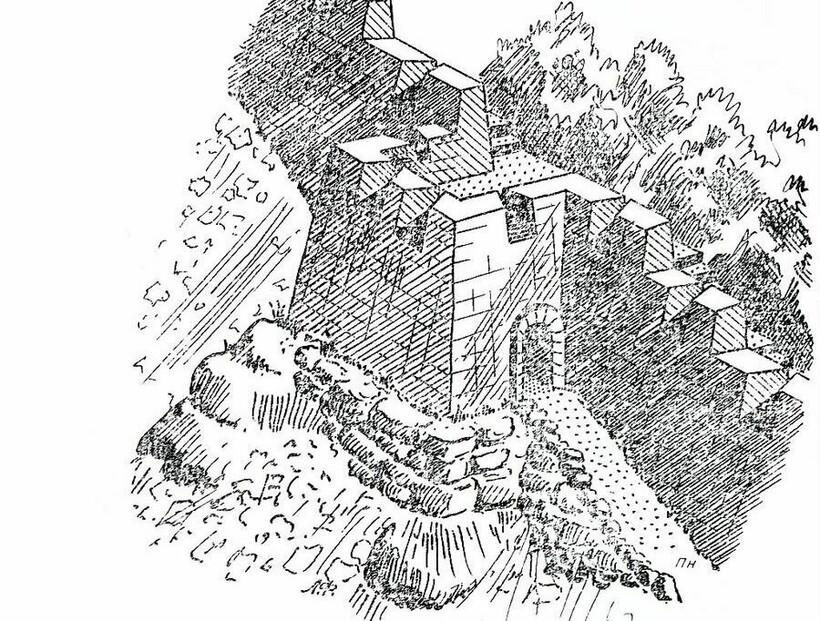 Реконструкция стены Лимена-Кале