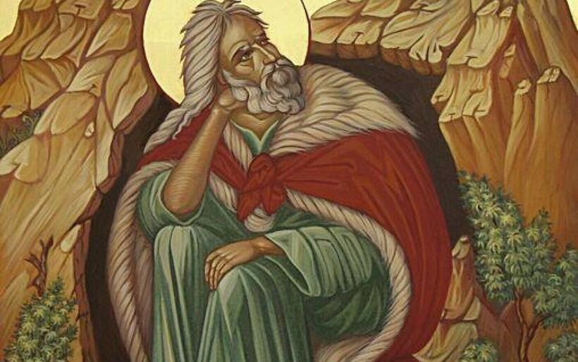 Икона с изображением пророка Ильи