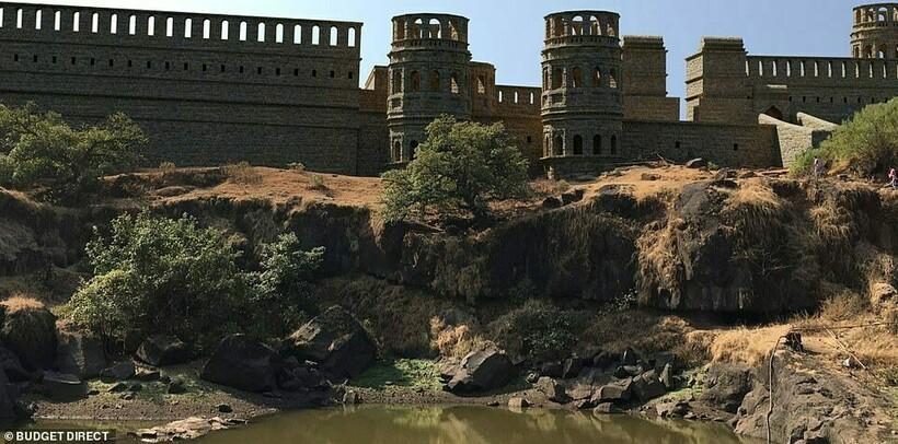 Как могли бы выглядеть 6 величественных замков Азии, если бы не были разрушены