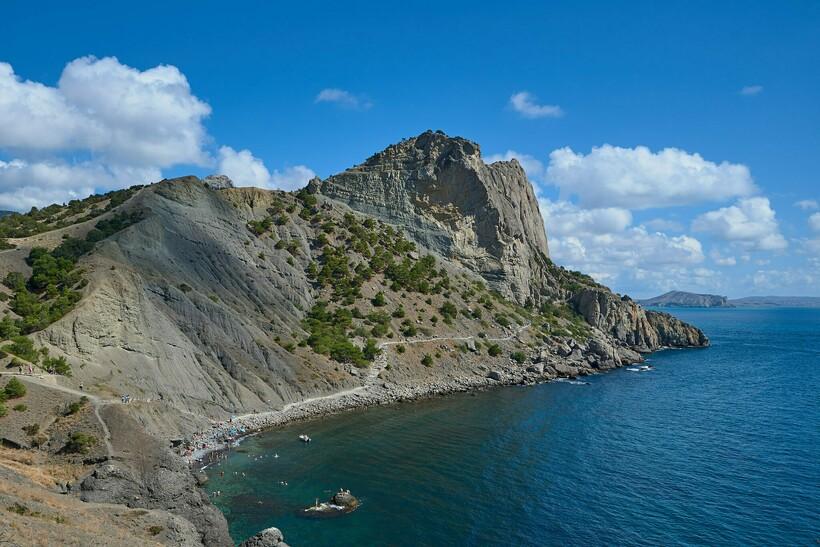 Гора Кода-Кая и тропа Голицына