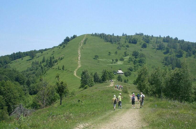 Восхождение на гору Маковица