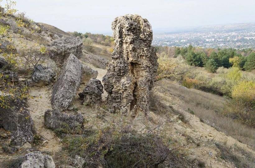 Склон горы Куцай