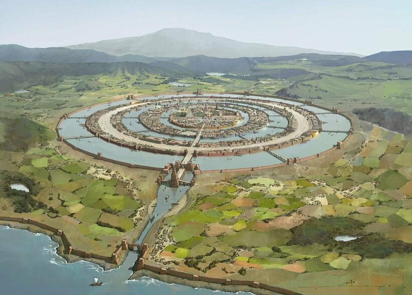 Затерянные города могут хранить в себе многие древние артефакты