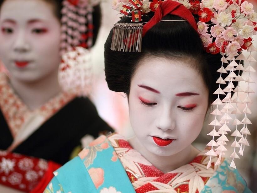 Стиль японцев во многом похож на китайский