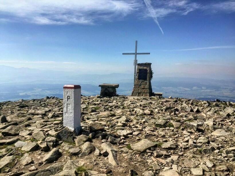Вершина горы Бабья