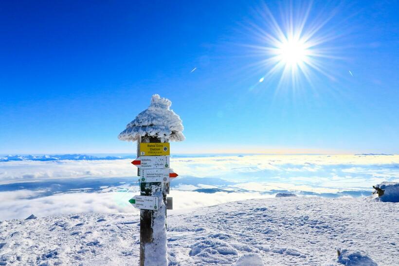 Климатические особенности горы Бабья