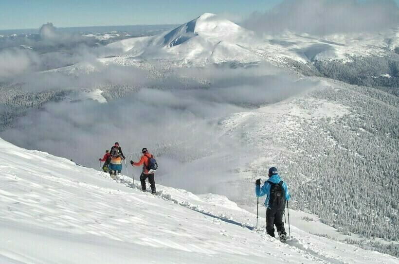 Гора Петрос зимой