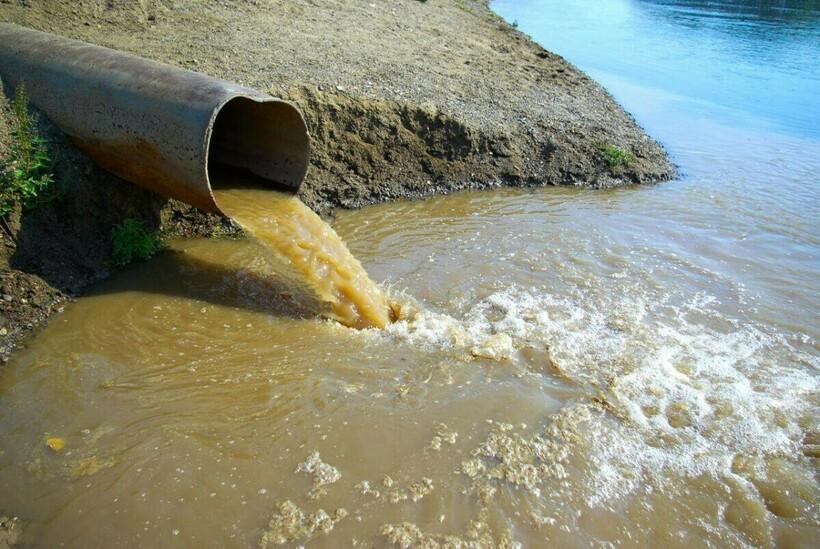 Человек загрязняет воду, чем делает хуже не только себе