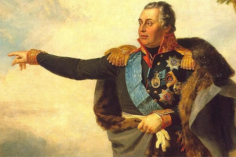 Портрет Михаила Илларионовича Кутузова, 1829 г. Д. Доу