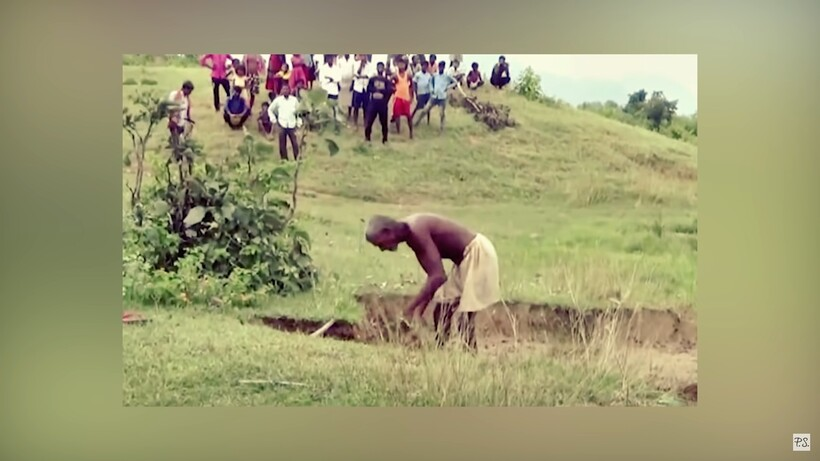 Мужчина 30 лет каждый день уходил в горы, и однажды люди увидели реку длиной 15 км