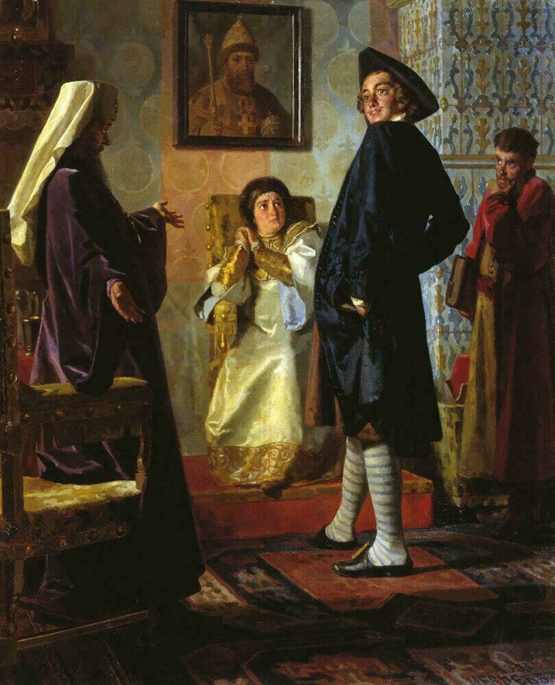 «Пётр I в иноземном наряде», 1903 год. Николай Неврев