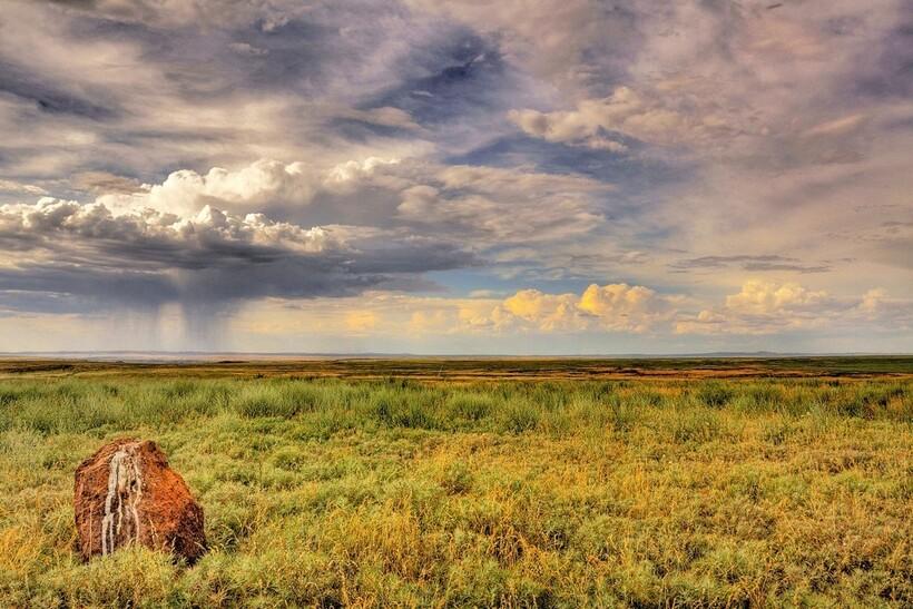 Степи Казахстана отлично подходят для размещения на их территории крупного объекта
